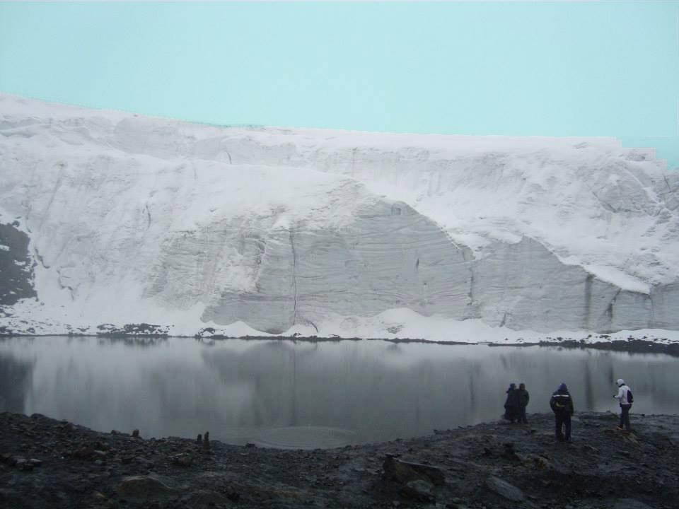 Morrena Glaciar Pastoruri