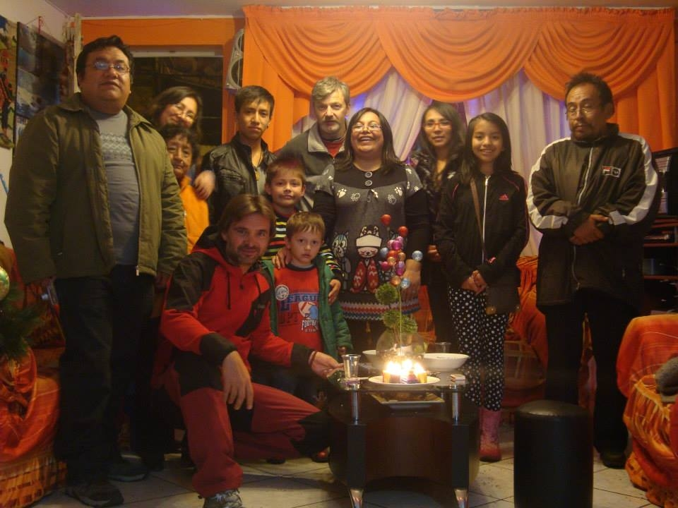 Nochevieja en Huaraz