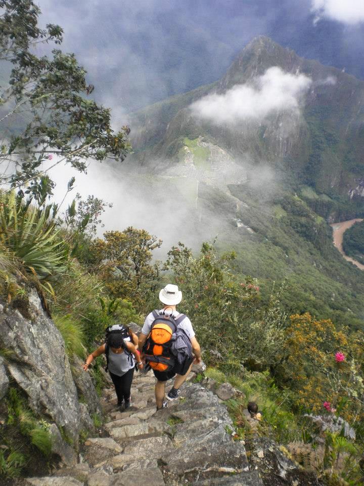 subida Machu Picchu