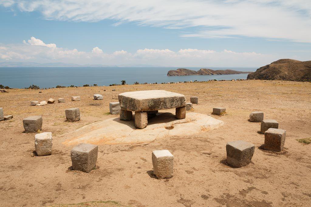 Altar Isla del Sol