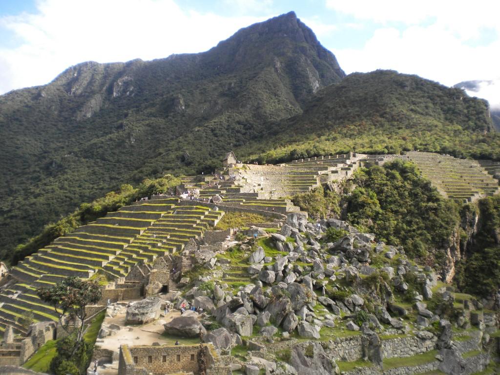 andenes Machu Picchu